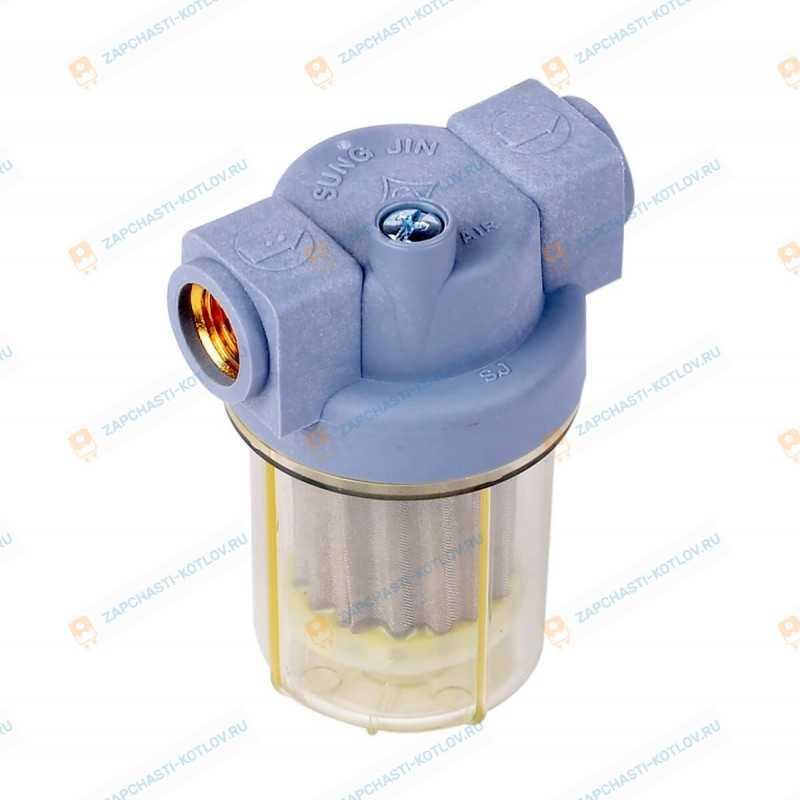 Топливный фильтр Kiturami TURBO (21/30) Turbo Hi Fin (25)/STSO (25/30)/KSO (50-150)/KRM (30/70) (S571200001)