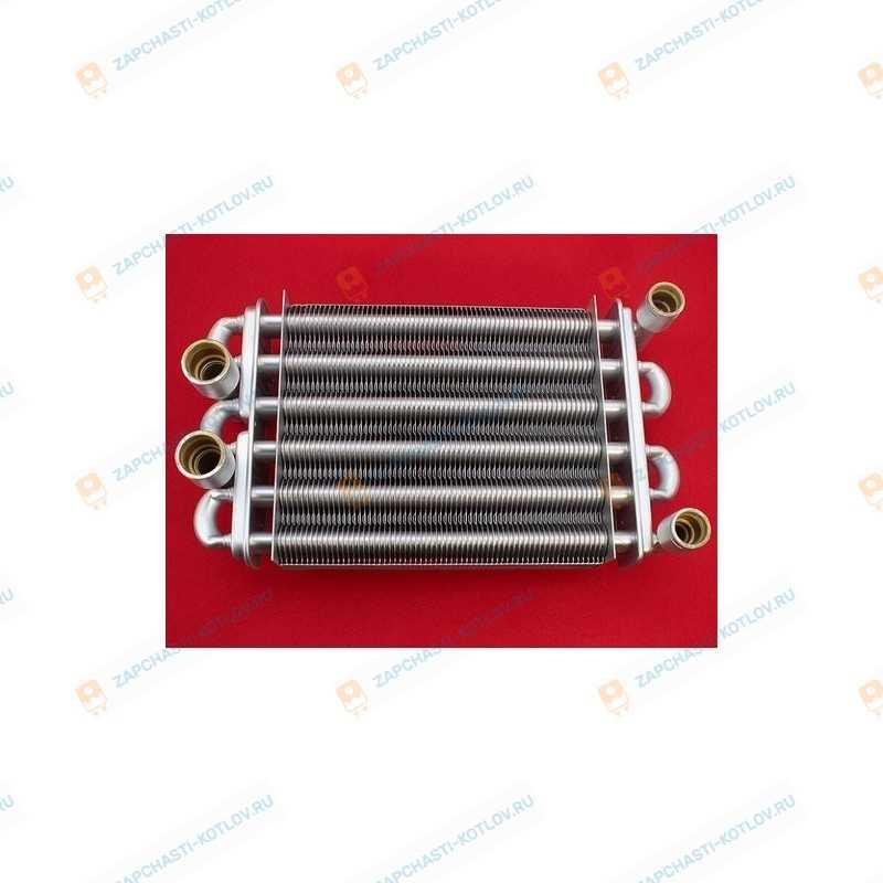 Первичный теплообменник для 24-26TB новый код AB.08.01.0025 (AB.08.01.0002) (AB.08.01.0002)
