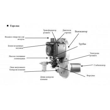 Дизельная горелка STSO-13 (A61E100194)