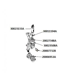 """Кольцо уплотнительное """"O-ring"""" (P20,EPDM) EQB 08-24HW, Deluxe S/C NAVIEN (20027348A)"""