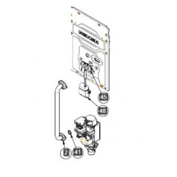 Газовая труба в сборе NAVIEN DELUXE C/E (30021750A)