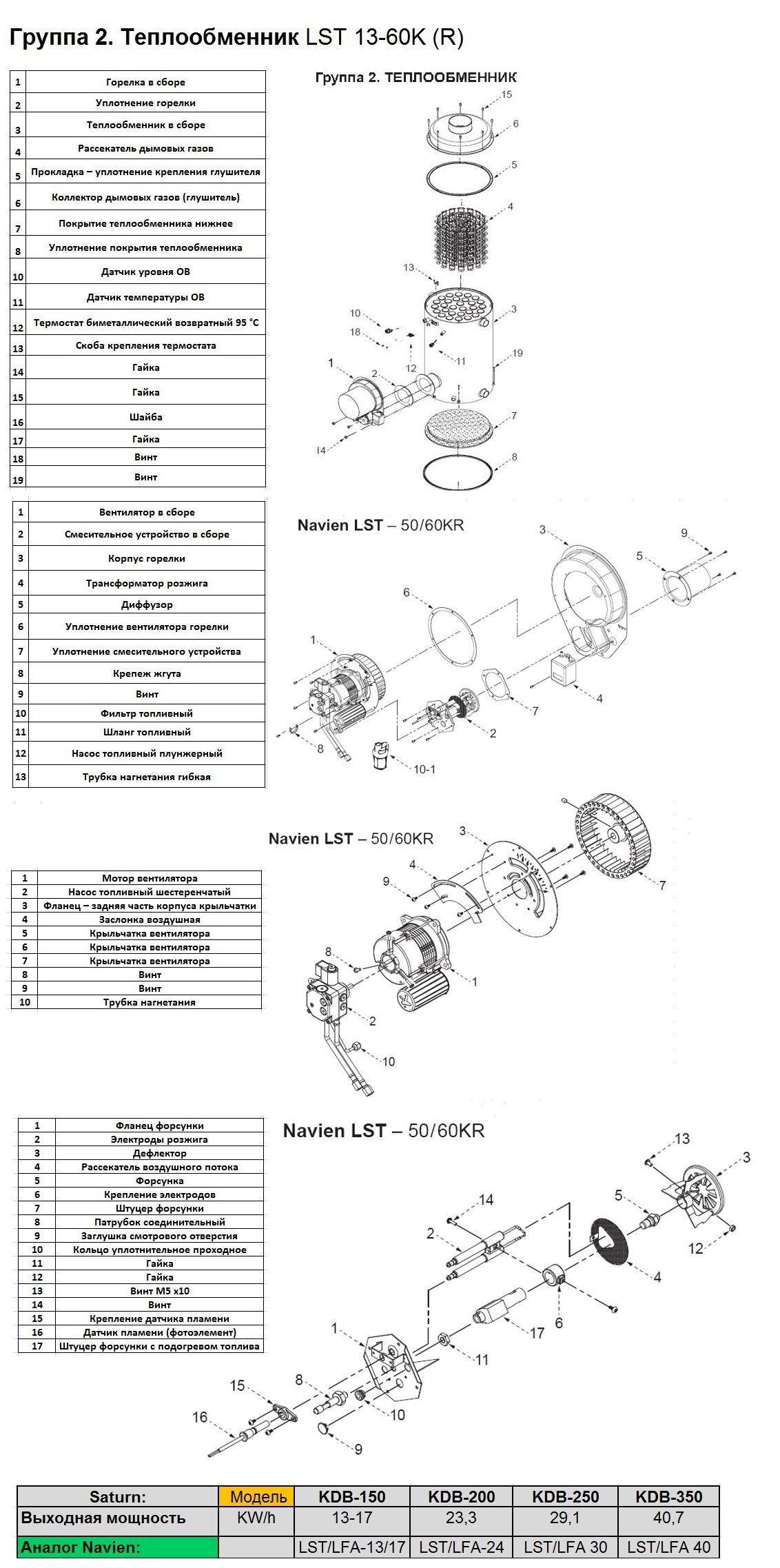 Navien LST 50-60K(R)